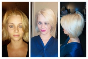 Theaology-Before and After Hair Color Palm Beach Gardens FL